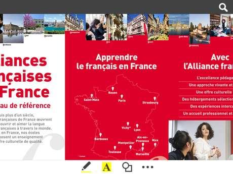Alliance Française Saint-Malo Bretagne - Cours de français pour étrangers FLE