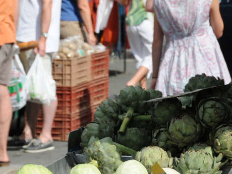 Marché estival de Saint-Alban