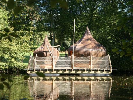 Cabanes sur l'eau Les Ormes Domaine & Resort