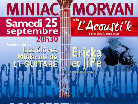 Concert Guitares Rock Gallo