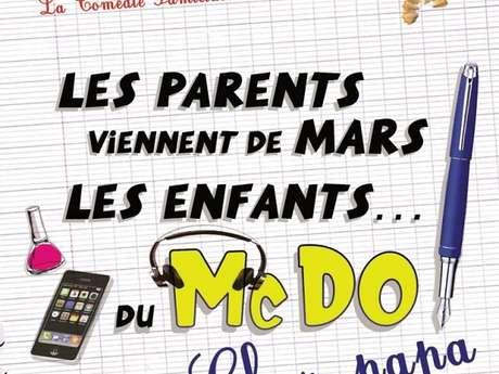 Les Parents viennent de Mars, les Enfants du McDo...