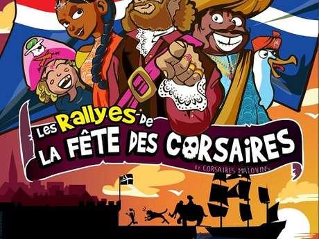 Les rallyes de la fête des Corsaires