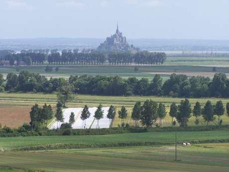 Les belvédères du Mont-Saint-Michel