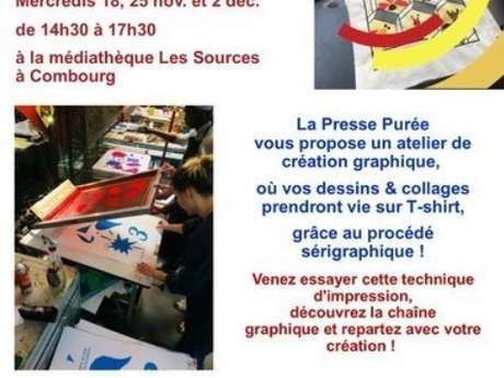 Ateliers customisation de T-shirt