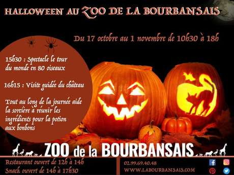 Halloween au Zoo de la Bourbansais