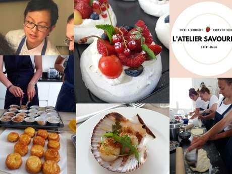 L'Atelier Savoureux - Cours de cuisine & chef à domicile