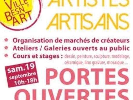 Portes ouvertes aux ateliers de la Ville Besn'Art