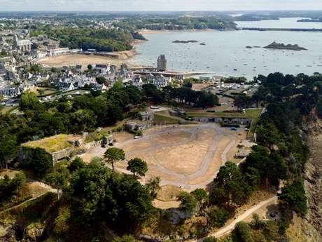 Saint-Malo accessible : La Cité d'Alet
