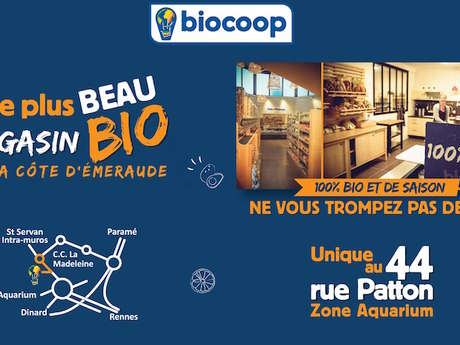 Biocoop L'Authentik Saint Malo Aquarium