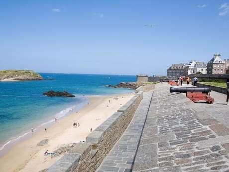 Saint-Malo accessible : les remparts Parcours 1