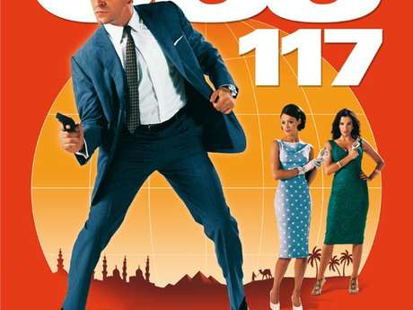 Cinéma plein-air : OSS 117, Le Caire nid d'espions