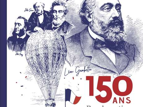 """** REPORTE ** Année Gambetta : Conférence, """"Léon Gambetta, le Plan Freycinet et les Chemins de Fer"""""""