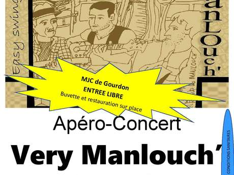 Apéro-Concert : Very Manlouch'