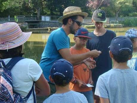 Atelier Pêche Nature Enfants à Cazals