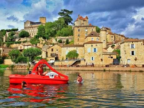 Copeyre - Base de Puy-l'Evêque - Pédalo et bateaux