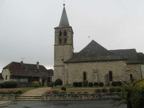 Visite de l'Eglise Saint-Martial et les Fresques