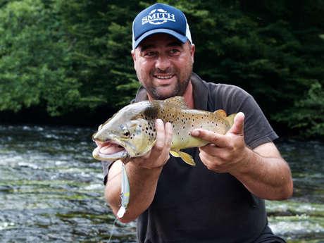 Laurent Matéos - Moniteur Guide de Pêche