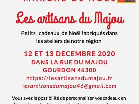 Le Marché de Noël des Artisans de la rue du Majou