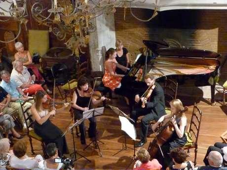 23ème Festival de Musique Autour des Cordes, Concert au Château à Béduer