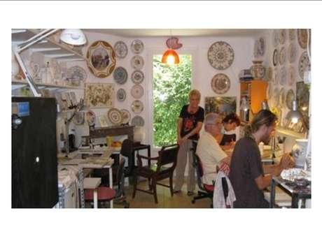 Nadine VELARD-HUILLET Meilleure Ouvrier de France : Décoration Céramique