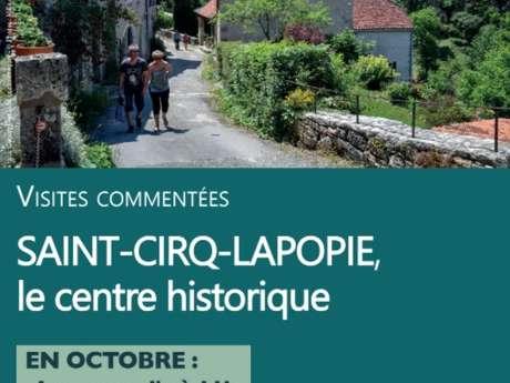 Visite Guidée : Saint-Cirq Lapopie Historique