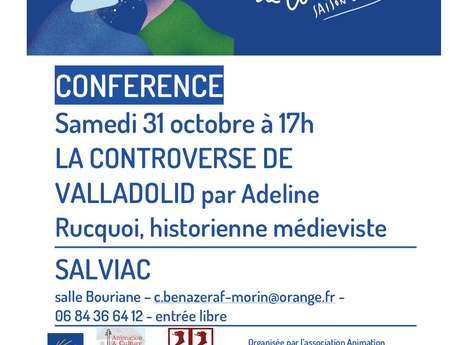 Conférence : la Controverse de Valladolid par Adeline Rucquoi (Chemins de Compostelle)