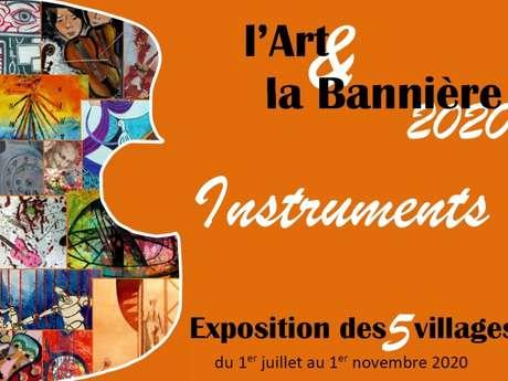 """Exposition """"L'Art et la Bannière 2020"""" à Montcléra"""