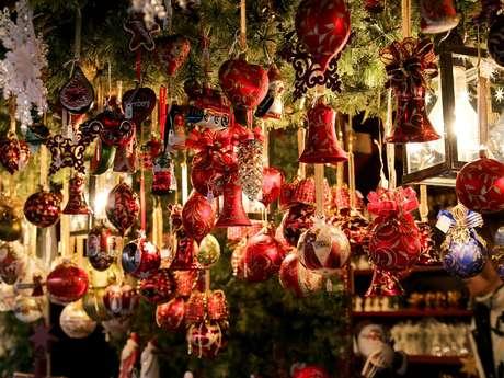 Village de Noël à Gourdon