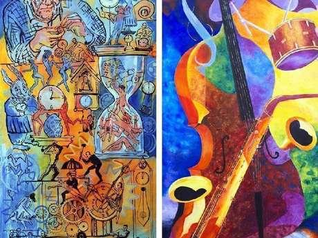 """Exposition """"L'Art et la Bannière 2021"""" à Goujounac"""