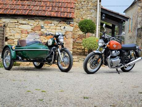 French Retro Ride