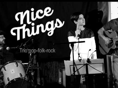 """Concert de """"Nice Things"""" au Profit des Restos du Cœur"""