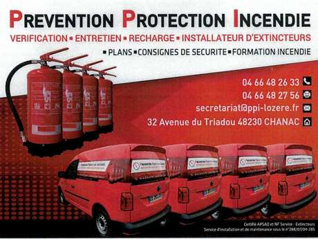 PRÉVENTION PROTECTION INCENDIE
