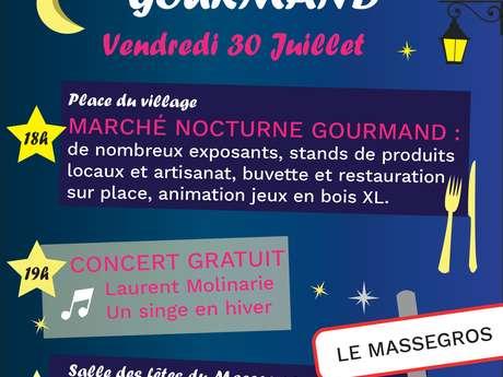 ANNULÉ - MARCHÉ NOCTURNE GOURMAND DU MASSEGROS