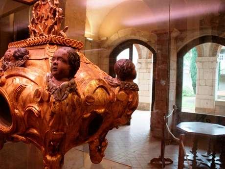 Salle du trésor de l'abbaye