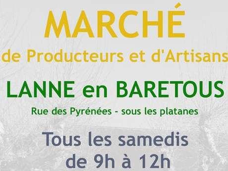 Marché de Lanne en Barétous