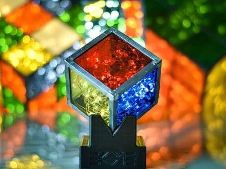 Création de Luminaires en verres - EKAYE