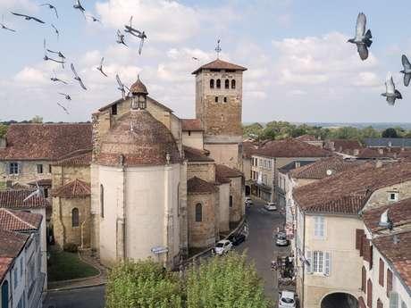 Abbaye bénédictine et son abbatiale