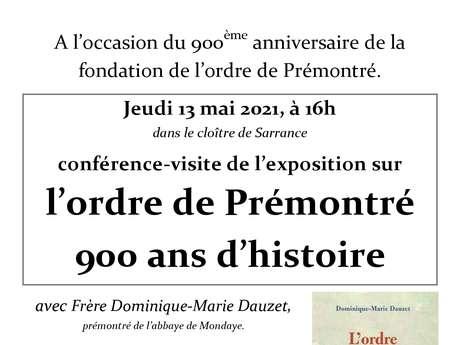 Exposition sur l'ordre de Prémonté 900ans d'histoire