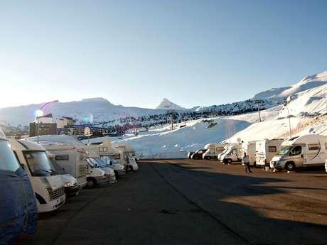 Aire de camping-car de la Pierre Saint-Martin