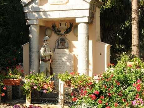 Monument aux Morts 14/18 de Banos