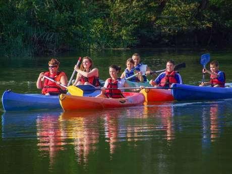 Base canoë-kayak et paddle de Coutras