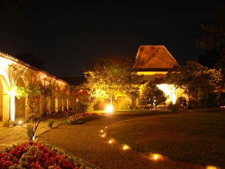 Visite nocturne aux chandelles au Château de Gaujacq