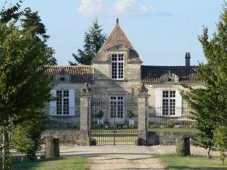 Château et moulin d'Abzac