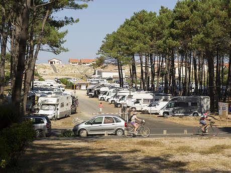 Aire de camping-cars de Contis