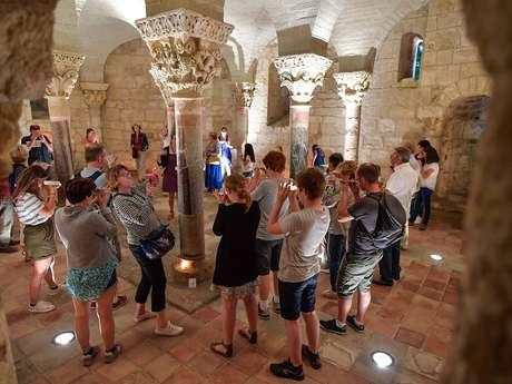 Visite nocturne de la Crypte de Saint Girons