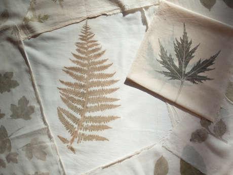 Atelier Tataki Zomé ou l'art des empreintes végétales