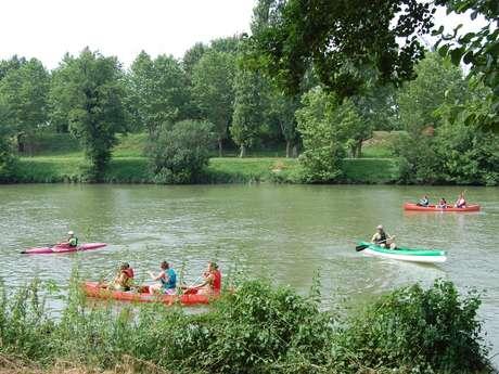 Canoë-Kayak sur l'Adour