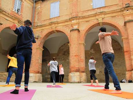 ANNULÉE : Initiation Yoga au coeur du patrimoine