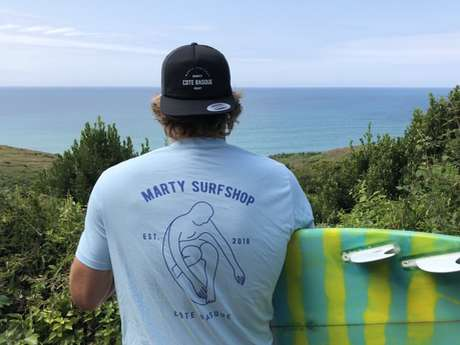 Marty bike & surf rental