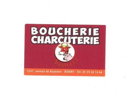 Boucherie Charcuterie Agorreta